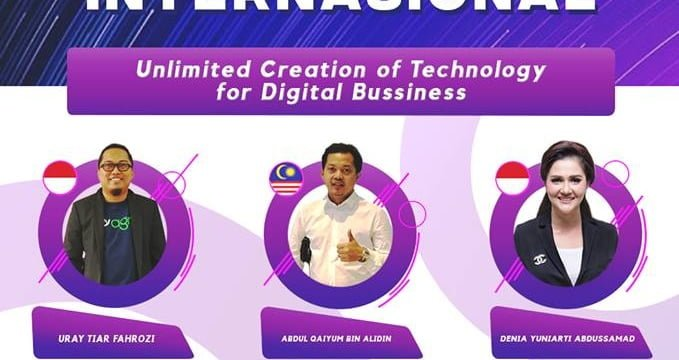 "Seminar internasional ""Unlimited creation of technology for digital bussiness"""