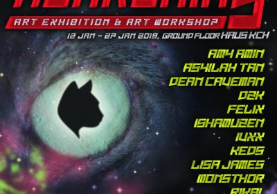 """Pameran """"Awakenin9"""" : Sebuah Permulaan Baru Seni Visual Kuching"""