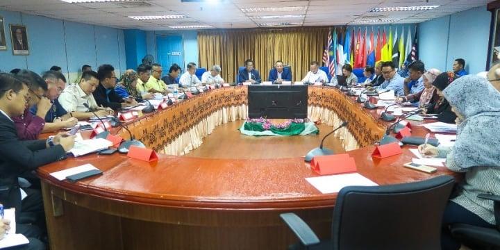 Timbalan Setiausaha Kerajaan Negeri Sarawak Lawat Projek Pembangunan Di Limbang