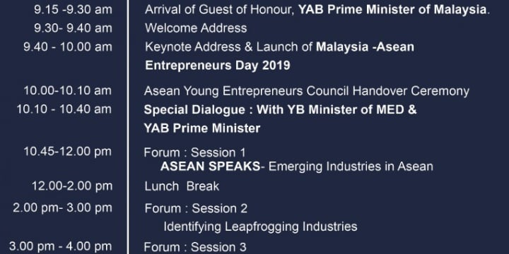 Malaysia – ASEAN Entrepreneurs Day 2019