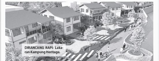 Old Kuching Heritage Pemangkin Kota Bersejarah Dunia