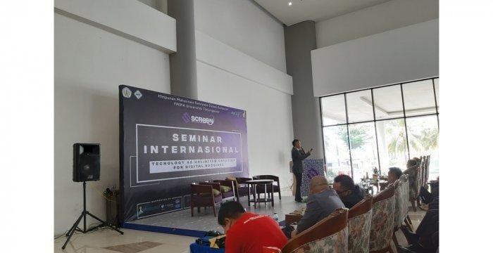 Himpunan Mahasiswa Rekayasa Sistem Komputer FMIPA Untan Gelar Seminar International