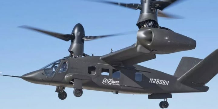 """A """"Tiltrotor"""" Helicopter May Replace the Army's Black Hawk"""