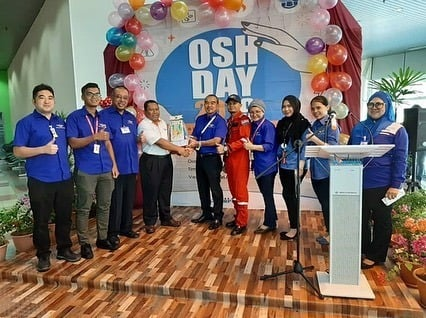 Westar Aviation Services : Occupational Safety and Health (OSH) day exhibition organized by Malaysia Airport Sdn Bhd (MASB)