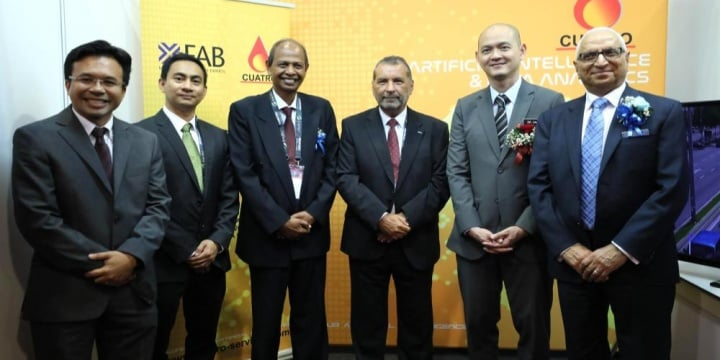 Cuatro Services signed agreement w X-Fab Sarawak
